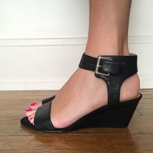 Nine West Strappy Wedges
